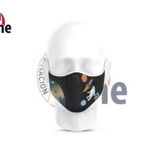 Mascarilla Sublimada – Astronauta