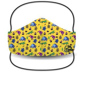 Mascarilla Sublimada – Mosaico Animal