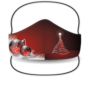 Mascarilla Sublimada – Merry Christmas