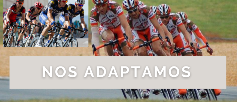 Ciclismo - nos adaptamos